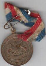 Medal 1945 City of Essendon Victoria Australia end WW2 peace year with ribbon