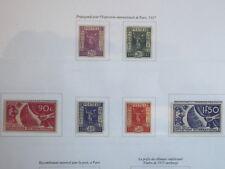 N° 322  et 323 neuf * et du 324 au 327 sans trace de charnière cote 118 euro