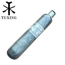 pcp air tank 0.5L carbon fibre OD 62mm*L305mm 4500 psi 300 bar thread M18*1.5