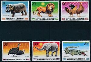 [P15910] Burundi 1991 : Fauna - Good Set Very Fine MNH Stamps - $35