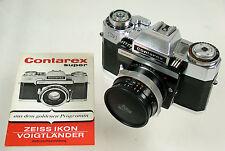 Carl Zeiss Ikon Contarex Super Model 1 fulmine Distagon 4/35 35mm F 4 Beautiful