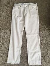 NWT Men's Gap Straight White Jeans, Size 30x30