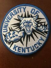 "University Of Kentucky Wildcats Vintage Embroidered Iron On Patch  3"" X 3"""