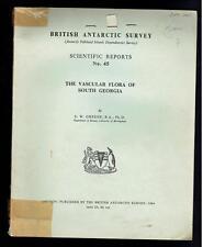 Greene; The Vascular Flora of South Georgia. British Antarctic Survey 1964 Fair