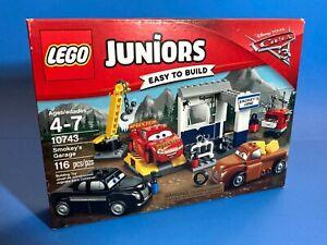 Smokey's Garage 10743 LEGO Juniors CARS 3 Disney Pixar SEALED building toy set