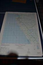 1940's Army topo map Venice Florida  4538 III SW