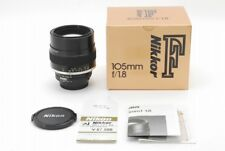 【TOP MINT in Box】Nikon Ai-s Nikkor 105mm f/1.8 AIS Telephoto MF  from Japan 1471