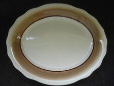 "Vintage Tan 6.5/"" Platter Brown Design Restaurant Ware by Jackson China"