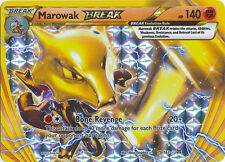 Marowak Break Ultra Rare Holo Pokemon Card XY BREAKThrough 79/162