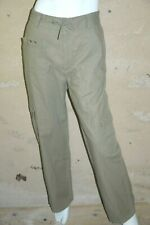 SCOTT & FOX Taille 44 Superbe pantalon homme vert gris Coton Lin chino