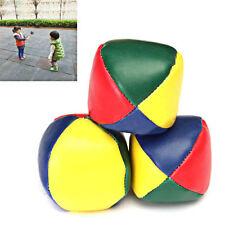 Pack de bolas de malabares circulares 1pcs colores de bolsas de frijol