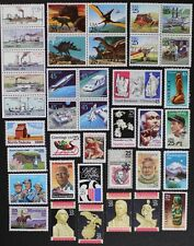 US 1989 Commemorative Year Set collection of 38 stamps + Airmails Mint NH