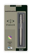 Parker Classic Stainless Steel CT Ball Pen Free Shipping