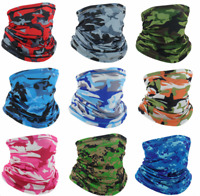Cooling Face Scarf Sun Mask Neck Gaiter Balaclava Neckerchief Bandana Headband