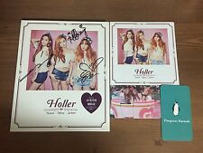 TAITISEO SNSD - Holler 2nd Mini Album Autographed tiffany seohyun taeyeon