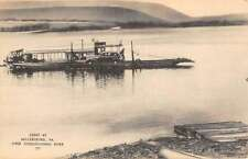 Millersburg Pennsylvania Car Ferry Waterfront Antique Postcard K71338