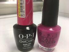 OPI GEL COLOR+ MATCHING GEL POLISH THE BERRY THOUGHT OF YOU