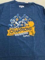 Men's NBA Basketball Golden State Warriors Championship Shirt NEW NWT small S