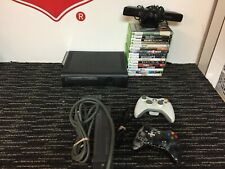 Xbox 360 With 16 Games 2 Controllers + Kinect (Tested)