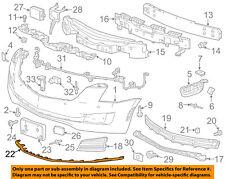 Cadillac GM OEM 15-16 ATS-Bumper Trim-Molding 22879656