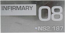 STARGATE SG-1 SG1/ATLANTIS Original TV Prop ~Deadulus Class Ship INFIRMARY Sign