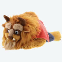 Disney Beauty & the Beast Fluffy Plush Hug Pillow Tokyo Disney Resort 2020