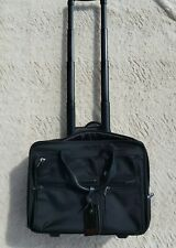 Tumi Alpha 2 Deluxe Expandable Wheeled Carry On Briefcase Ballistic Nylon $650