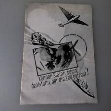 Allgemeines Uhrmacher Image Prospekt / Werbung um 1935 (50523)