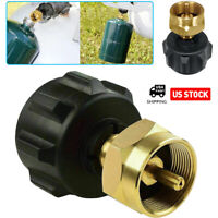 QCC1 Regulator Valve Propane Refill Adapter for Steel Propane Cylinder 1 LB Cook