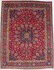 Vintage Thick Pile Floral Medallion Design 10X13 Handmade Oriental Rug Carpet