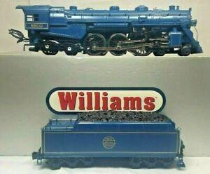 WILLIAMS 40207 SCALE HUDSON JERSEY CENTRAL BLUE COMET 4-6-4  WILLIAMS BLUE COMET