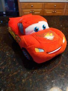 Disney Pixar Cars Lightning McQueen Plush Doll 12 Inches