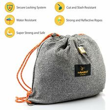 InGwest. Cut Resistant Bag, Anti-Theft Bag, Cut-Proof Gymsack. Waterproof pocket