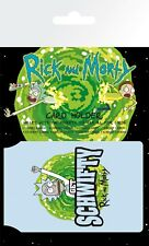Rick and Morty Schwifty Card Holder Travel Holder ID Card Holder Pickle Rick