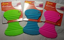 Multi Purpose Silicone Gripper Pad Heat Resistant Cooking Baking Pink Blue Green