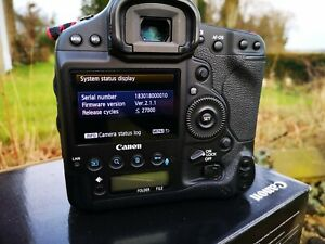 Canon EOS 1DX  27,000 shutter count