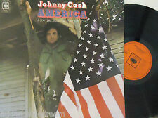 JOHNNY CASH - America ~ GATEFOLD VINYL LP