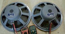 Vintage JBL JIM LANSING By AMPEX 150-4 32 Ohms Woofer Speakers Rare Not Fake