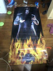 Vintage WWF The Undertaker Vinyl Door Poster 6'X3'