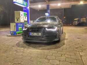 For Audi A6 C7 S Line + S6 Front Bumper Performance Racing Splitter / Spoiler