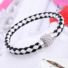 Unbranded Leather Costume Bracelets without Metal