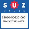 38860-50G20-000 Suzuki Relay assy,abs motor 3886050G20000, New Genuine OEM Part
