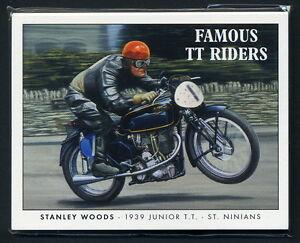 FAMOUS TT RIDERS Original Collectors Cards - Isle of Man - Hailwood Dunlop Grant