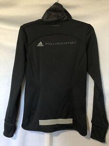 Adidas by Stella McCartney High Neck Climaheat Athletic Jacket Black Small EUC!