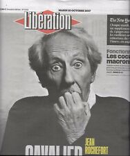 LIBERATION N°11315 10 OCTOBRE 2017   JEAN ROCHEFORT/ FONCTIONNAIRES/ NY TIMES