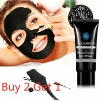 70ml Facial Cleaning Black Mask Charcoal Peel Off Face Washing Blackhead Remover