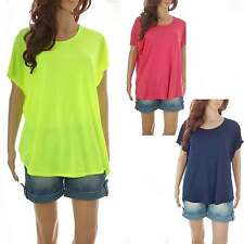 Summer Festival Baggy Slouch Oversize Plus Size T Shirt Top 8 10 12 14 16 18
