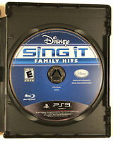 Disney Sing It: Family Hits (Sony PlayStation 3, 2010) PS3 Free fast Shipping
