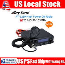 AnyTone AT-5289 CB Mobile Radio 30HZ~3KHZ High Power AM 60W FM 50W In-Vehicle