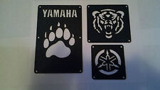 Yamaha Grizzly 550 700 Fender Warning Tags /NO decal  For 2011 and Older Models
